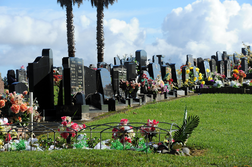 Waikumete Cemetery, Henderson, Auckland, New Zealand, Monday, June 10, 2013. Credit:SNPA / Ross Setford
