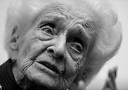© Filippo Alfero<br /> Rita Levi Montalcini all'Universita' di Torino<br /> Torino - 07/10/2009<br /> varie personaggi<br /> Nella foto: Rita Levi Montalcini