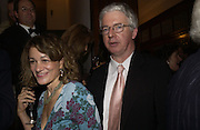 Mr. and Mrs. Peter Stothard. Olga Polizzi and Rocco Forte host a party to celebrate the re-opening of Brown's Hotel  after a  £19 million renovation. Albermarle St. London. 12 December 2005. ONE TIME USE ONLY - DO NOT ARCHIVE  © Copyright Photograph by Dafydd Jones 66 Stockwell Park Rd. London SW9 0DA Tel 020 7733 0108 www.dafjones.com