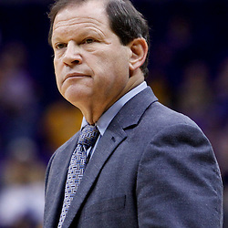 November 23, 2011; Baton Rouge, LA; South Alabama Jaguars head coach Ronnie Arrow against the LSU Tigers during the first half of a game at the Pete Maravich Assembly Center.  Mandatory Credit: Derick E. Hingle-US PRESSWIRE