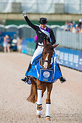 Isabell Werth - Bella Rose<br /> FEI World Equestrian Games Tryon 2018<br /> © DigiShots