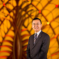 Tim Gan poses at the Galaxy Macau on 04 December 2012. Photo by Victor Fraile / studioEAST
