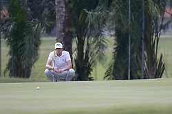 March 22, 2019 - Kuala Lumpur, Malaysia - Nacho Elvira of Spain in action on Day Two of the Maybank Championship at Saujana Golf and Country Club on March 22, 2019 in Kuala Lumpur, Malaysia  (Credit Image: © Chris Jung/NurPhoto via ZUMA Press)