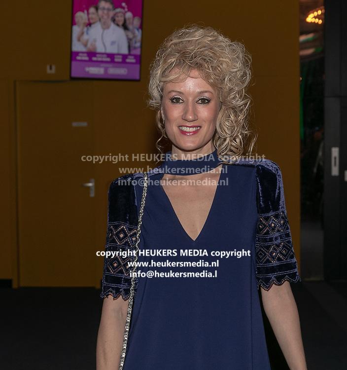 2019, Februari 18. Rijswijkse Schouwburg, Rijswijk. Premiere van Medisch Centrum Best. Op de foto: Femke van Assouw
