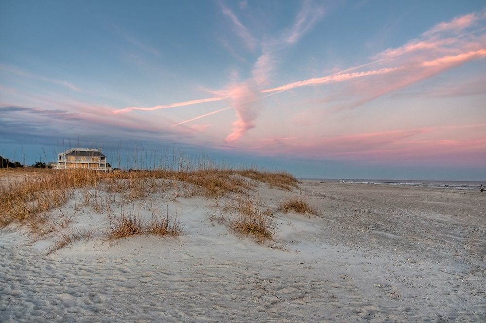 HDR Sunset, Wrightsville Beach South End