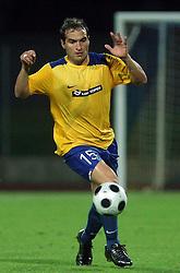 Juan Vitagliano (15) of Koper  at 1st game of UEFA Cup  Qualifying Round 1 between FC Anet Koper, Slovenia vs KS Vllaznia Shkoder, Albania, on July 17, 2008, in Nova Gorica, Slovenia. Vlazznia won the match 2:1. (Photo by Vid Ponikvar / Sportal Images)