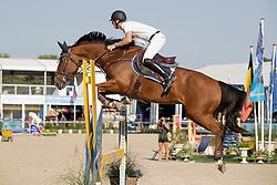 Devos Pieter, (BEL), Espoir<br /> Belgisch Kampioenschap Springen - Lanaken 2016<br /> © Hippo Foto - Dirk Caremans<br /> 14/09/16
