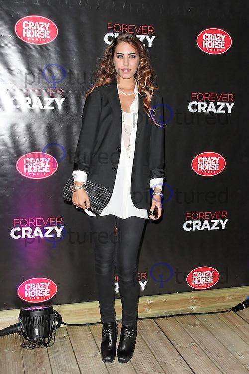 LONDON - SEPTEMBER 19: Amber Le Bon attended the premiere of 'Crazy Horse Presents Forever Crazy' at The Crazy Horse, London, UK. September 19, 2012. (Photo by Richard Goldschmidt)