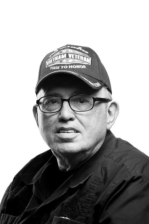 Richard E. Primrose<br /> Army<br /> E-4<br /> Company Clerk<br /> Nov. 1967 - Sept. 1975 <br /> Vietnam<br /> <br /> Veterans Portrait Project<br /> Phoenix, AZ