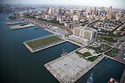Brooklyn Bridge Park Piers designed by Michael Van Valkenburgh Associates