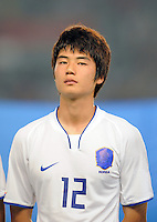 Olympia 2008  Peking  Fussball  Maenner   10.08.2008 Italien - Korea Sung Yueng KI (KOR), Portraet.