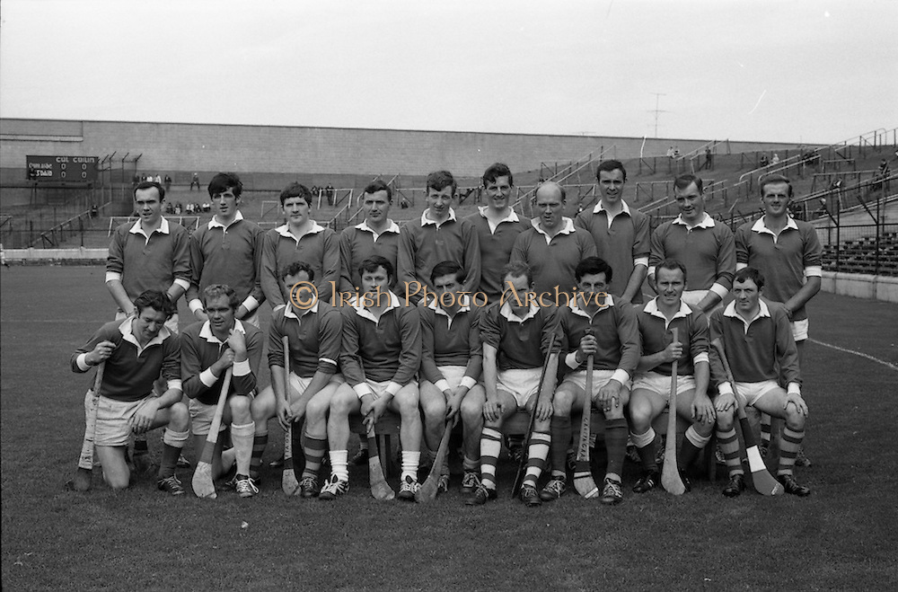 17/08/1969<br /> 08/17/1969<br /> 17 August 1969<br /> All-Ireland Junior Semi-Final: Kerry v Louth at Croke Park, Dublin.<br /> Kerry junior hurling team which beath Louth in the All-Ireland Junior Semi-Final.