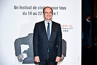Pierre Lescure attends the lumiere prize ceremony during 9th Film Festival in Lyon, October 20, 2017<br /> 9th Lyon Film Festival - Lumiere Award 2017
