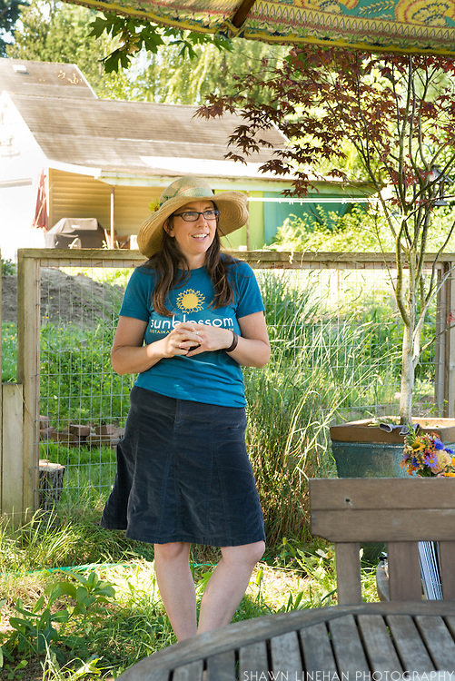 Dena Lieberman of Sunblossom Farms  in Portland, Oregon