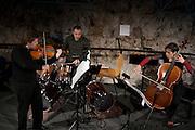 ECLATS CONCERT vom 22. Januar 2011 im Kunstmuseum Freiburg mit einem Ensemble des Collegium Novum im Kunstmuseum Freiburg. © Romano P. Riedo