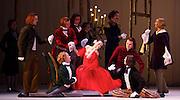 Triple Bill <br /> Marguerite &amp; Armand<br /> by Frederick Ashton <br /> Mariinsky Ballet, Royal Opera House, Covent Garden, London, Great Britain <br /> 11th August 2014 <br /> <br /> Diana Vishneva as Marguerite<br /> <br /> Konstantin Zverev as Armand<br /> <br /> Andrei Yakovlev as Father <br /> <br /> <br /> Photograph by Elliott Franks <br /> Image licensed to Elliott Franks Photography Services