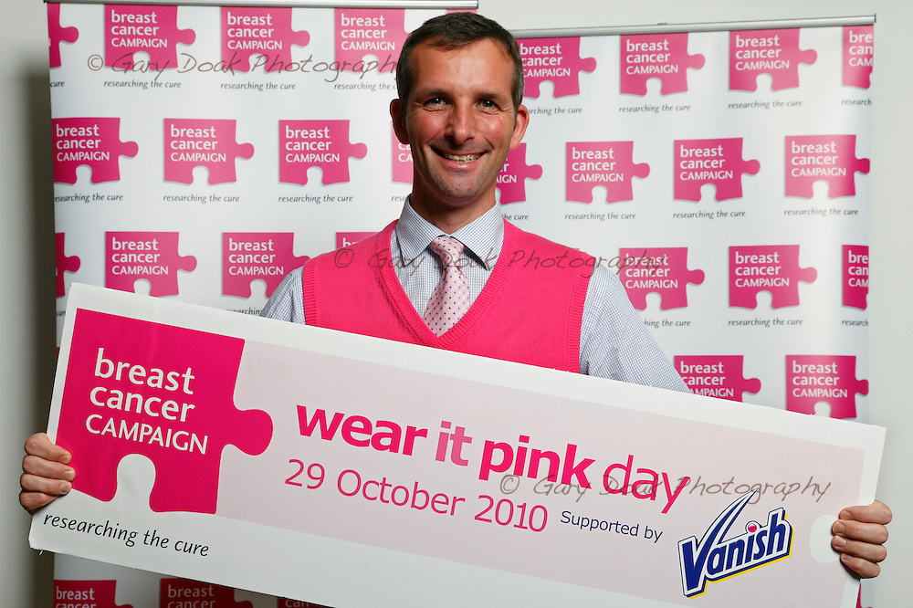 Scottish MSP's 'Wear it Pink' at the Scottish Parliament