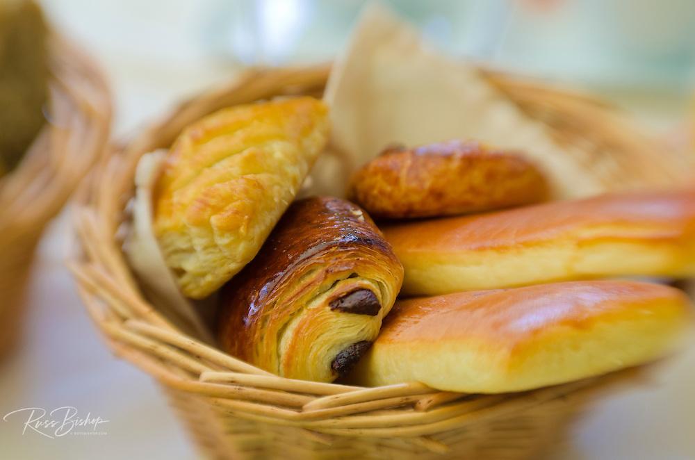 Basket of pastries, Paris, France