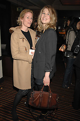 left to right, MRS CHARLES FINCH and actress ROSAMUND PIKE at a lunch hosted by Ralph Lauren to present their Spring 2007 collection in support of the Serpentine Gallery's Education Programme, held at Fifty, 50 St.James's Street, London SW1 on 20th March 2007.<br />