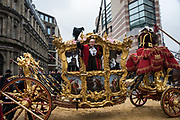Charles Bowman, Lord Mayor of the City of London,, Lord Mayor's show London. 11 November 2017.