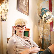London. Patrick Woolf, photographed for the Times at The Scooter Works Cafe near Waterloo.London. Patrick Wolf, photographed for the Times at The Scooter Works Cafe near Waterloo. Patrick Wolf (born Patrick Denis Apps on 30 June 1983) is an English singer-songwriter from South London.