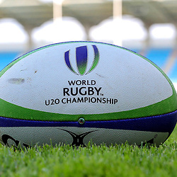 Official Ball during the U20 World Championship match between South Africa and Georgia on May 30, 2018 in Perpignan, France. (Photo by Manuel Blondeau/Icon Sport)