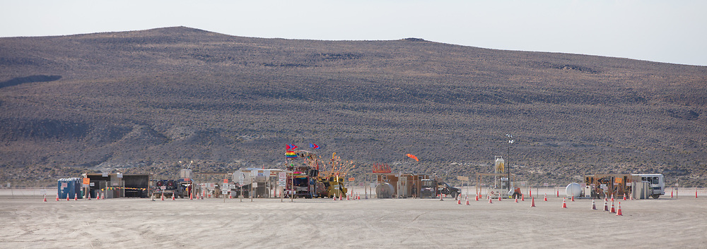 HELL. Burning Man Mutant Vehicle fuel infrastructure.