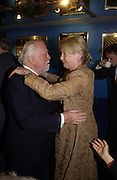 Lord Attenborough and Lady Puttnam, Celebration of 100 years of the acting school RADA at the National Film Theatre, on May 9 2004. SUPPLIED FOR ONE-TIME USE ONLY> DO NOT ARCHIVE. © Copyright Photograph by Dafydd Jones 66 Stockwell Park Rd. London SW9 0DA Tel 020 7733 0108 www.dafjones.com