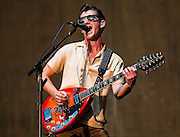 Arctic Monkeys perform during the 2013 Austin City Limits festival on Fri., Oct. 4, 2013 at Zilker Park.<br /> Ashley Landis for American-Statesman