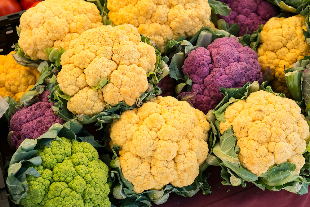 Cauliflower at the Farmers Market | June 30, 2013