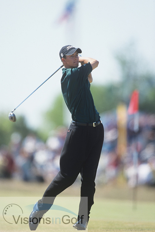 Adam Scott<br /> The Open Championship<br /> 2000<br /> <br /> Pictures Credit: Mark Newcombe/visionsingolf.com