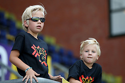 fans of NAC Breda during the Pre-season Friendly match between NAC Breda and EDS Team Manchester City at Rat Verlegh stadium on August 04, 2018 in Breda, The Netherlands