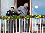 Aarhus, 08-04-2015<br /> <br /> Queen Margrethe of Denmark celebrates her 75th birthday in Aarhus with Prince Henrik, Crown Prince Frederik and Crown Princess Mary, Prince Joachim and Princess Marie.<br /> <br /> Photo:Royalportraits Europe/Bernard Ruebsamen