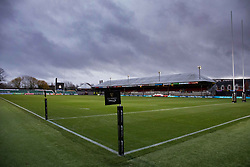 A general view of Rodney Parade, home of Dragons<br /> <br /> Photographer Simon King/Replay Images<br /> <br /> Guinness PRO14 Round 10 - Dragons v Leinster - Saturday 1st December 2018 - Rodney Parade - Newport<br /> <br /> World Copyright © Replay Images . All rights reserved. info@replayimages.co.uk - http://replayimages.co.uk