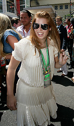 MONTE-CARLO, MONACO - Sunday, May 24, 2009: Princess Beatrice at the Monaco Formula One Grand Prix at the Monte-Carlo Circuit. (Pic by Juergen Tap/Hoch Zwei/Propaganda)