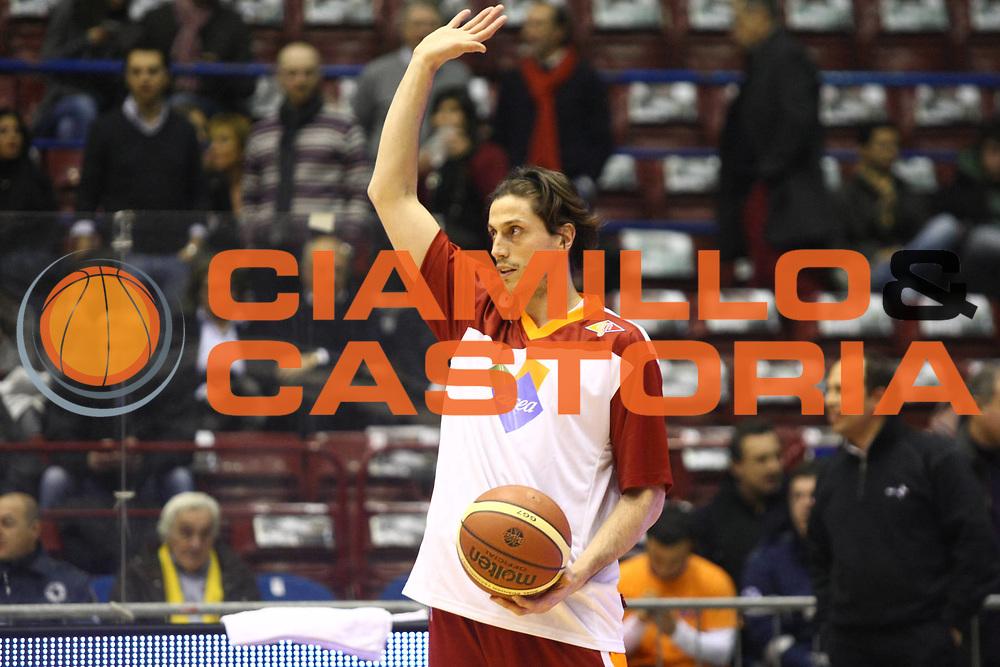DESCRIZIONE : Milano Lega A 2011-2012 EA7 Emporio Armani Milano Acea Virtus Roma GIOCATORE : Marco Mordente SQUADRA : Acea Virtus Roma DATA : 2012-01-04CATEGORIA : SPORT : Pallacanestro AUTORE : AGENZIA CIAMILLO & CASTORIA/G.Ciamillo