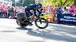 06-05-2016 NED: Giro d Italia 2016 Etappe 1, Apeldoorn<br /> De 99ste editie van de Ronde van Italië. De eerste etappe, een individuele tijdrit van 9,8 kilometer / Tom Dumoulin NED TGA- Team Giant-Alpecin