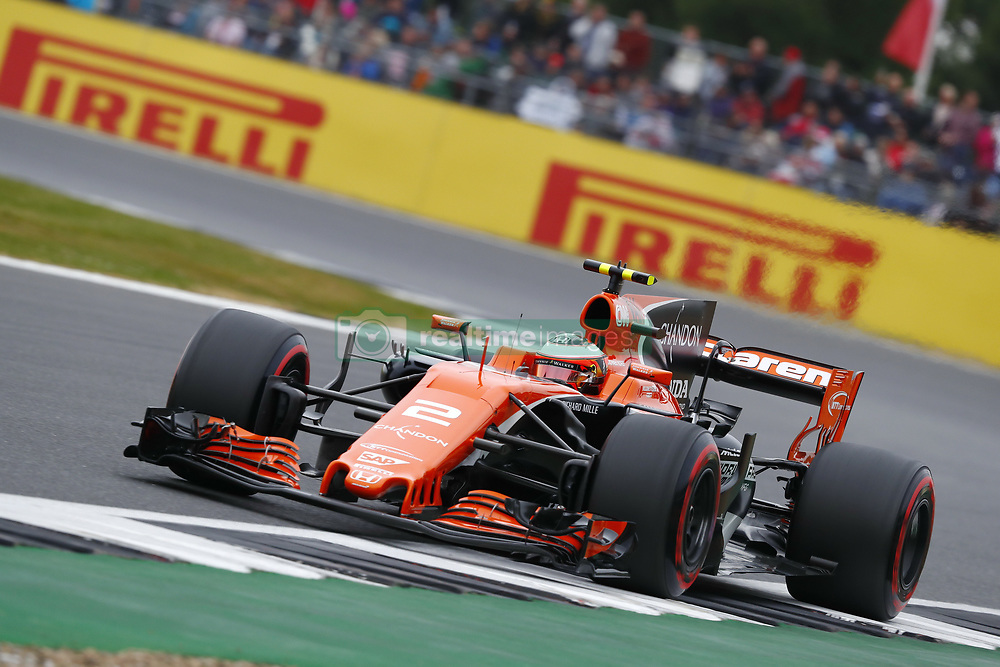 July 15, 2017 - Silverstone, Great Britain - Motorsports: FIA Formula One World Championship 2017, Grand Prix of Great Britain, .#2 Stoffel Vandoorne (BEL, McLaren Honda) (Credit Image: © Hoch Zwei via ZUMA Wire)