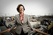 Antonia Axson Johnson, Chairperson of Axel Johnson AB.  Photographed  in Stockholm, Sweden for Fortune magazine.