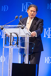 © Licensed to London News Pictures. 06/10/2015. London, UK. NIGEL LAWSON speaks at the Institute of Directors (IoD) Annual Convention 2015, held at the Royal Albert Hall in London. Photo credit : Vickie Flores/LNP