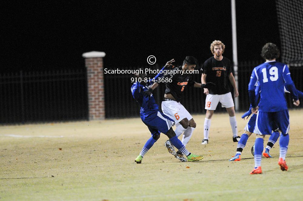 2014 Campbell University Men Soccer vs UNC Asheville
