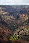 Kauai. Waimea Canyon State Park.