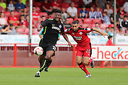 Rohan ince during the Pre-Season Friendly match between Crawley Town and Brighton and Hove Albion at the Checkatrade.com Stadium, Crawley, England on 16 July 2016.