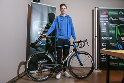 March 30, 2018 - France - BEVEREN, BELGIUM - MARCH 30 : VAN AERT Wout  (BEL) of Veranda's Willems - Crelan pictured during a press conference showing his new Stevens bike prior the 102th Ronde Van Vlaanderen by Flanders Classics at the Biznis Hotel on March 30, 2018 in Beveren, Belgium, 30/03/18 (Credit Image: © Panoramic via ZUMA Press)