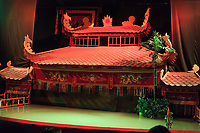 The set of the Golden Dragon Water Puppet Theatre in Ho Chi Minh City, Vietnam