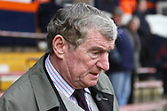 Picture by David Horn/Focus Images Ltd +44 7545 970036.16/02/2013.Ex Luton Town Manager David Pleat before the The FA Cup match at Kenilworth Road, Luton.