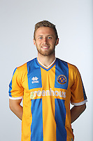 Jordan Clarke of Shrewsbury Town - Shrewsbury Town Photo Call Season 2015-2016