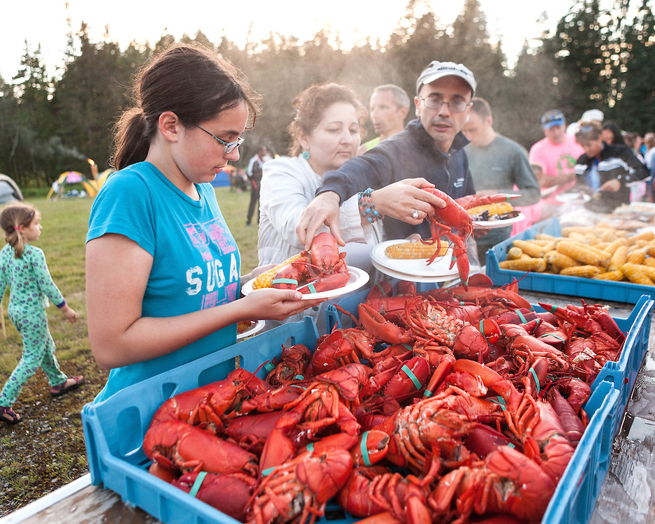 Great Cranberry Island Ultra 50K road race: Lobster