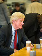 08 JANUARY 2020 - NEVADA, IOWA: Gov. at Farm Grounds, a coffee shop in Nevada, IA. Weld, who was a two term Republican Governor of Massachusetts, is campaigning in Iowa in support of his primary challenge of Republican incumbent President Donald Trump.        PHOTO BY JACK KURTZ