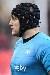 James King of Ospreys during the pre match warm up<br /> <br /> Photographer Craig Thomas/Replay Images<br /> <br /> Guinness PRO14 Round 11 - Ospreys v Scarlets - Saturday 22nd December 2018 - Liberty Stadium - Swansea<br /> <br /> World Copyright © Replay Images . All rights reserved. info@replayimages.co.uk - http://replayimages.co.uk